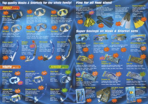 Ocean Pro Past Catalogue